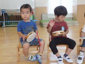 未就園児クラスおひさまぐみの子どもたち【9/17(木)】