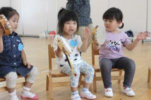 未就園児クラスおひさまぐみの子どもたち【9/18(金)】