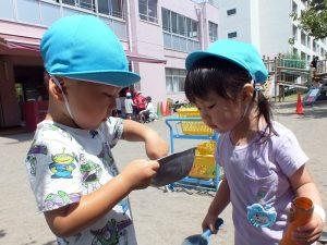 未就園児クラスおひさまぐみの子どもたち【6/11(金)】